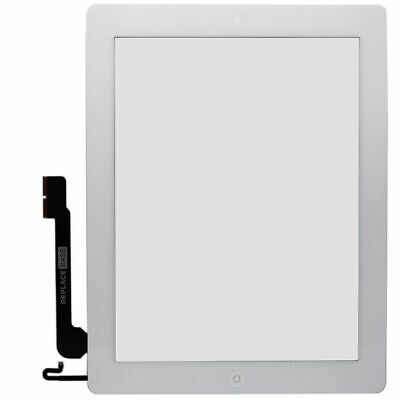 Screen Digitizer For Apple iPad 4 Retina White Replacement Touch Glass Assembly