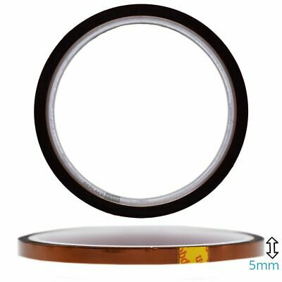 Phone Tablet Thermal Polyimide Kapton Insulation Tape Roll 5mm x 33m iPhone iPad