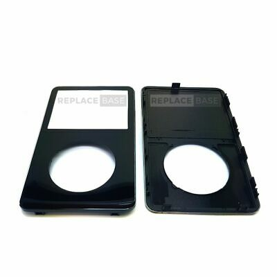 For Apple iPod 5G video replacement front housing cover - Black - OEM