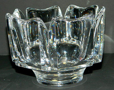 Orrefors Crystal Lars Hellsten CORONA Small Monteith Bowl