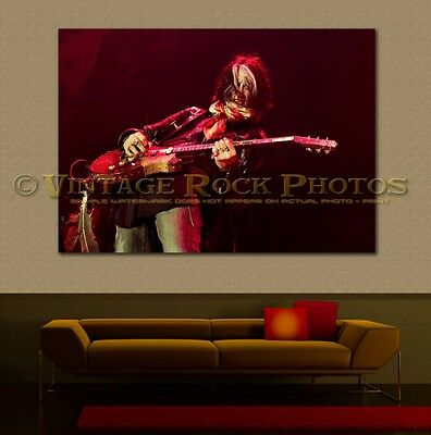 Joe Perry Project 24x36 in Canvas Print Fine Art Gallery Framed Gilcee Photo s36