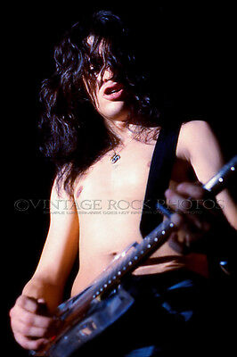 "Joe Perry Project Photo 8x12 or 8x10"" Studio Print '70s Vintage Live Concert 14"