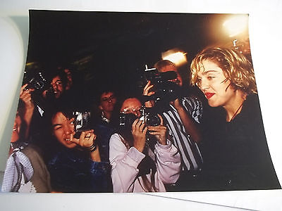 "Vintage 8x10"" Color Photograph of  MADONNA"