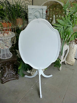 MOST ELEGANT Antique Shabby Flip Top OVAL TABLE