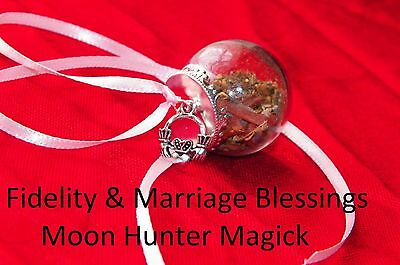 Fidelity Marriage Spell Handfasting Witch Ball 20+ Yrs Exp.Pagan Cheating spell