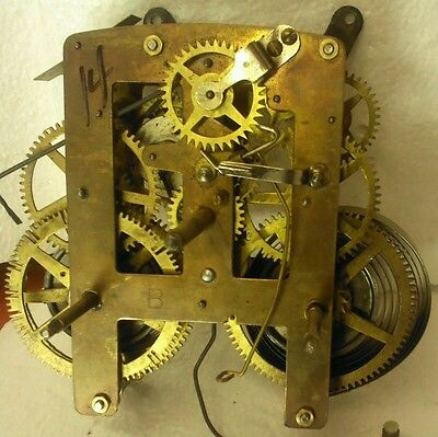 Made in India clock movement.