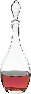Above The Bar Collection Matteo Wine or Liquor Crystal Decanter, 32 Oz Lead Free