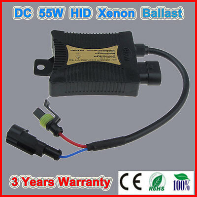 55W Xenon HID Replacement Digital DC Ballast Ultra Slim For All Bulbs Fit  Hot