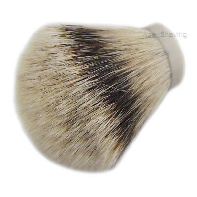 Knot Size 30mm Silvertip Badger Hair Shaving Brush Knot  EXTRA LARGE  Knot