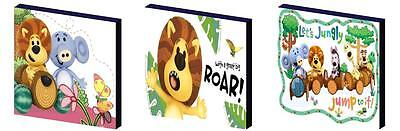 Raa Raa Lion - Canvas Art Blocks/ Wall Art Plaques/pictures
