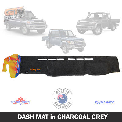 DASH MAT to Suit Toyota Landcruiser 70 Series July/2009 to 2015 DM1129 CHARCOAL