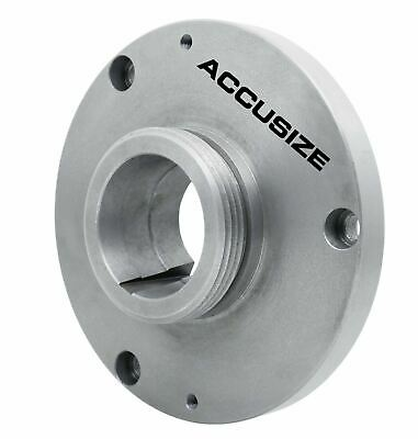 L-00 Type Adaptor for 3 Jaw Chuck Diameter = 8'', Spindle Taper L-00, #2700-0501