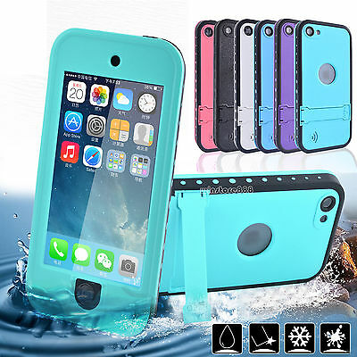 Waterproof Shockproof Dirt Snow proof Case Cover For Apple iPod Touch 5 5th 6th