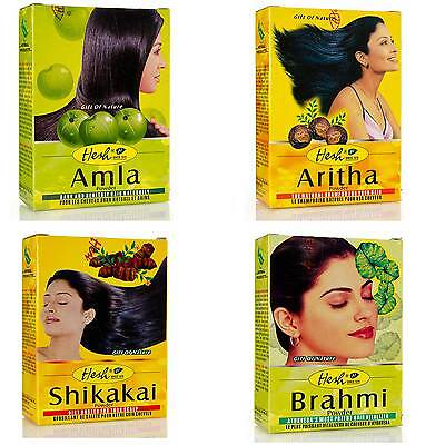 Hesh Herbal Hair Growth SkinCare AntiDandruff Amla Shikakai Brahmi Aritha Powder