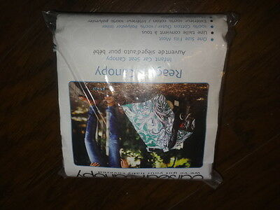 New Carseat Canopy  Reagan Cover Blanket
