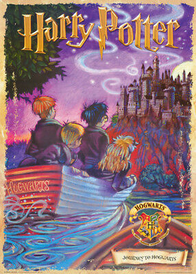 Poster;movie Repro:drawing: Harry Potter - Journey - Free Ship  #fp0930 Rc3 C