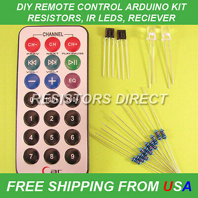 DIY IR Remote Control Kit For Arduino MCU PIC Infrared SCM NEW