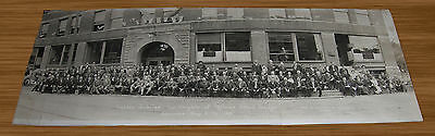 1914 Lawrence KS Knights of Pythias Grand Lodge Panoramic Spicer Bumbarger Photo