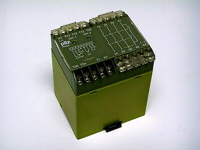 Pilz PNOZ 24VDC 3S 1O Safety Relay *EXCELLENT PULL*