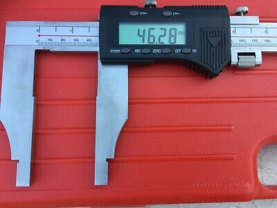 Vernier Caliper 0-600mm Digital STAINLESS STEEL BODY  Industrial quality