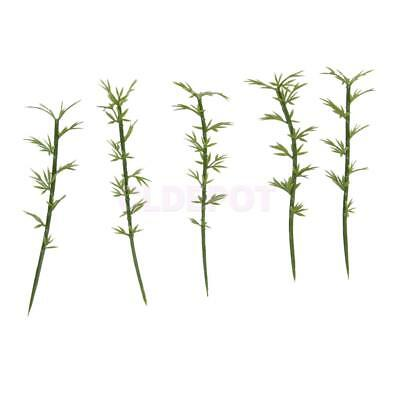 100pcs Green Model Bamboo Trees Park Garden Buildings Scenery Layout Scale 1:200