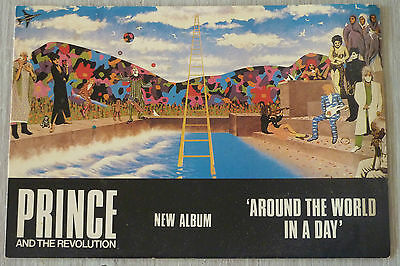 Carte Postale Postcard - PRINCE and THE REVOLUTION - Around the world in a day