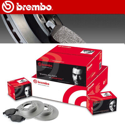 Kit Dischi + Pastiglie Freno Posteriori Brembo Vw Golf 4 Iv 1.9 1900 Diesel Post