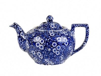 Calico Teapot - Small 3-4 cups by Burleigh - Burgess & Leigh