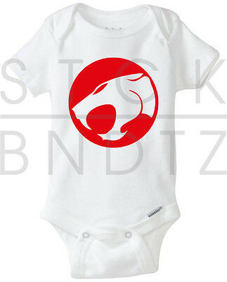 Thundercats Cartoon Dragonball 90's Baby T-Shirt Funny Cute Shower Gerber Onesie