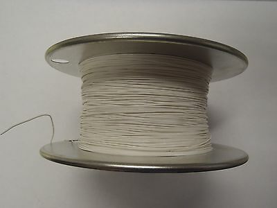 26ga 26awg Solid Teflon White MIL-W-16878/6ET 1000' Hook Up Wire L18