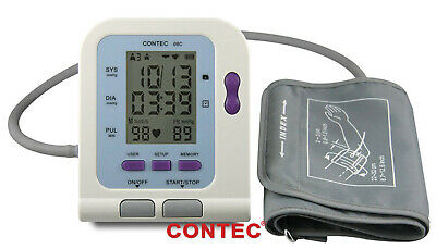 CE FDA Digital Blood Monitor USB PC Software CD Included CONTEC08C BP Monitor