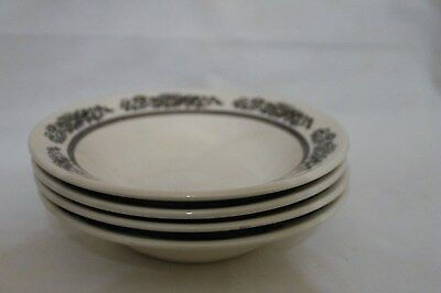 Vintage Royal China Sussex Cavalier Ironstone Soup/Cereal Bowls Set of 4