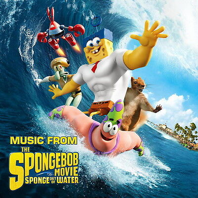 "2015 Movie Film 24/""x38/"" Poster 037 The SpongeBob Movie Sponge Out of Water"