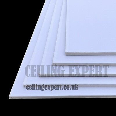 SUSPENDED VINYL CEILING TILES 1200 x 600 CLEAN ABLE & STEAM PROOF 8 TILE PER BOX
