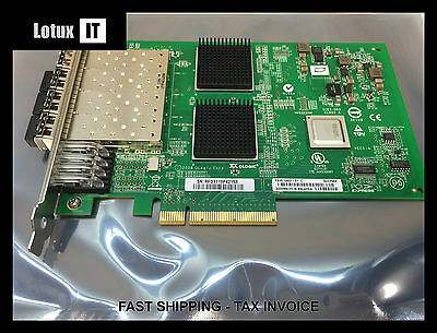 QLogic QLE2564 Quad Port 8GB Fiber Channel HBA FC PCIe PX4810402-01 QLE2562