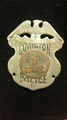 Covington ky police early 1900's badge, ky police badge
