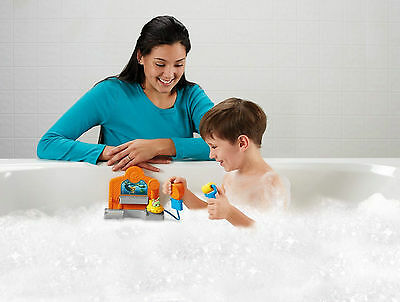 Fisher Price Octonauts Gup Cleaning Station Ages 3+ Toy Bath Water Boys Girls