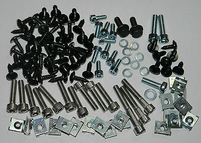 Mega Set Screws Fairing Bolts + Clips Yamaha Aerox Mbk Nitro 112 Parts New
