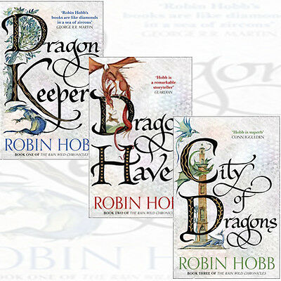 Robin Hobb The Rain Wild Chronicles 3 fiction  Books Collection Set brand new UK