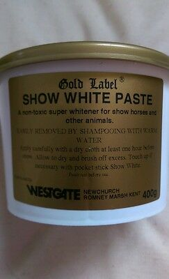 Gold Label Show White Paste, Spray, Powder  Grooming Products