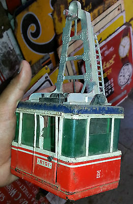 c1930 Rare Old Vintage D.B.G.M. Tin Toy Made in Western Germany Lehman ?