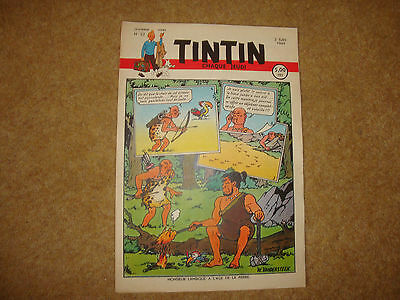 1949 Tintin Journal with episode of Land of Black Gold (L'Or Noir)