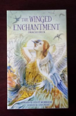 The Winged Enchantment Oracle Deck~New~Tarot~39 Cards and Booklet