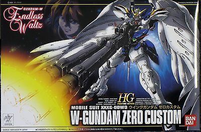 1/144 HG EW-01 WING W GUNDAM ZERO CUSTOM ENDLESS WALTZ MODEL KIT BANDAI # 61209