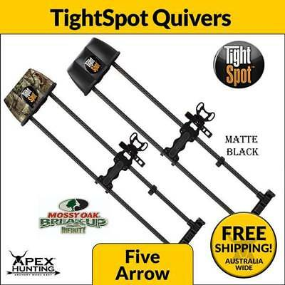 Brand New Tightspot Bow Quiver - Mossy Oak Or Black - Archery Bow Hunting