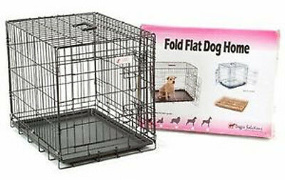 Dog Crates UK, Cages + Free Mat , Puppy training Crates Small Medium Large Giant