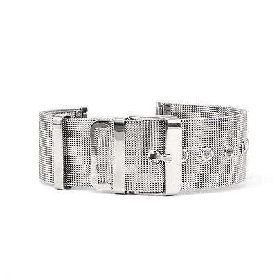 Stainless Steel Watch Mesh Band Bracelets Strap Wristwatch Straps 18-24mm M