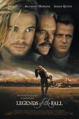 LEGENDS OF THE FALL MOVIE POSTER 2 Sided ORIGINAL 27x40