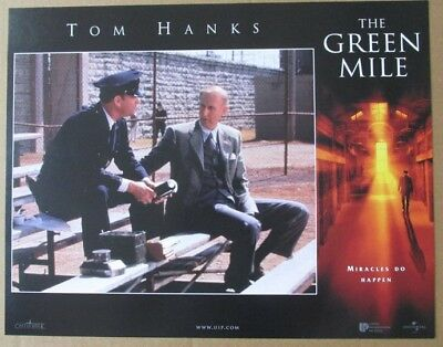 GREEN MILE C MOVIE POSTER LOBBY CARD 1999 ORIGINAL 11x14 TOM HANKS