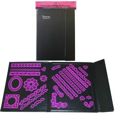 Crafts-Too Magnetic Storage Folder for Stencils & Dies CT26002